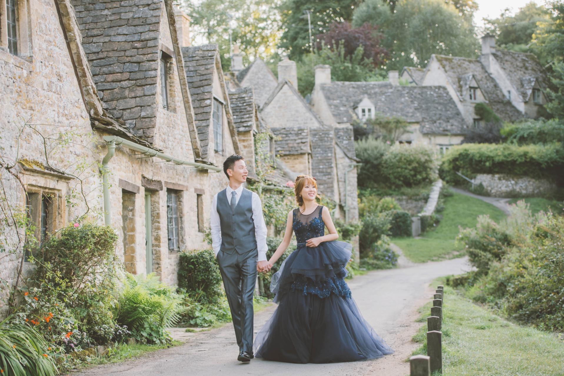 倫敦婚紗、拜伯里婚紗、英國婚紗