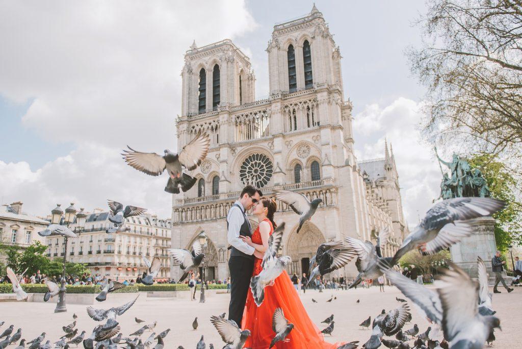 海外婚紗、巴黎婚紗、自助婚紗