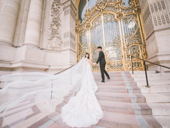 海外婚紗巴黎婚紗