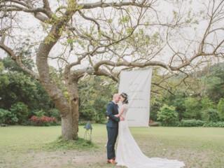 婚禮紀錄,美式婚禮,戶外婚禮,納美花園