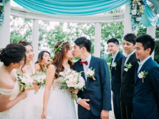 美式婚禮,心之芳庭,戶外婚禮,婚禮紀錄